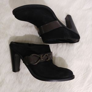 Cole Haan Air Tantivy Harness Clog size 8B Black